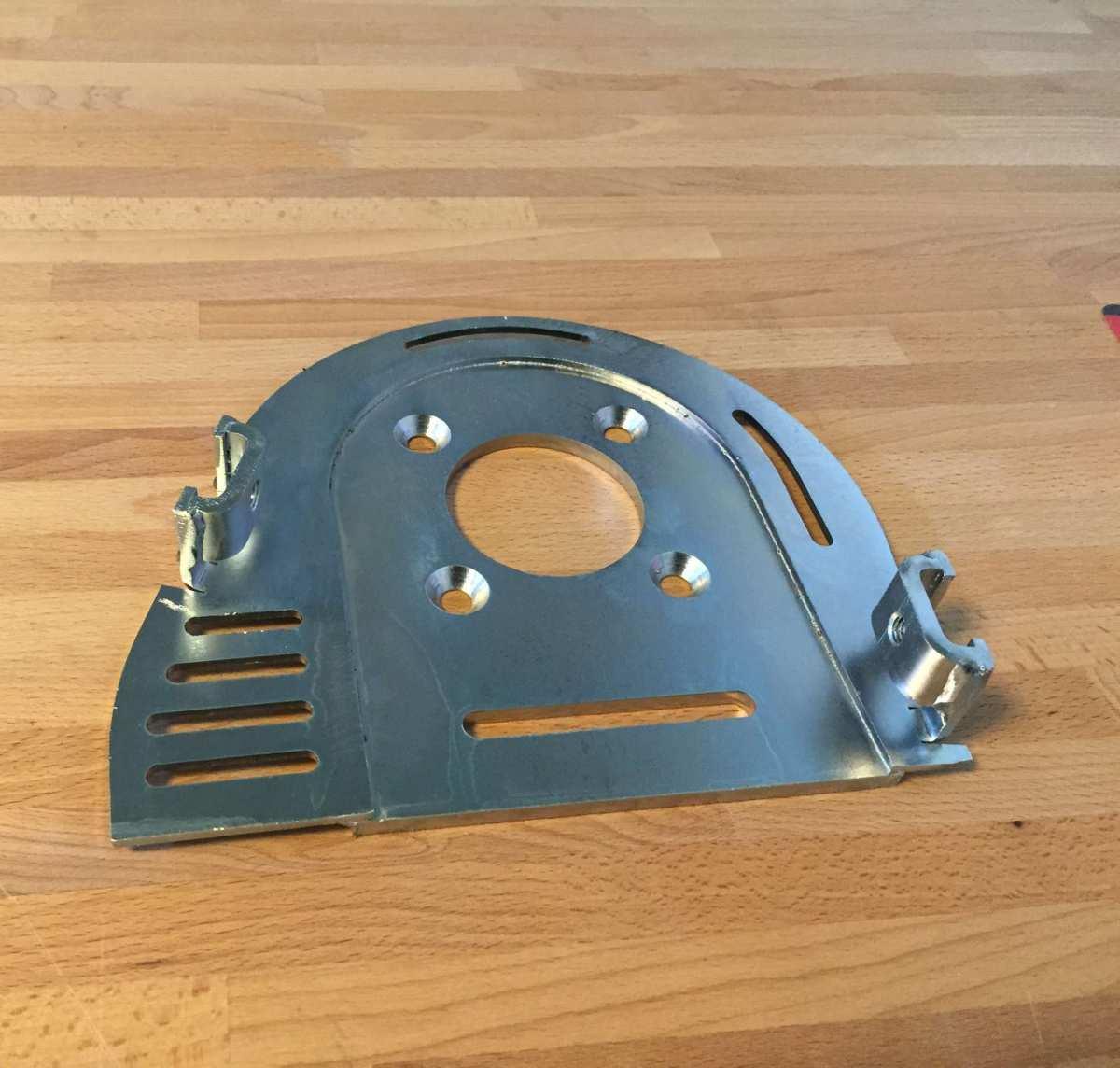 Galvanisiertes Stahlblech der Firma Lynx Metal Works