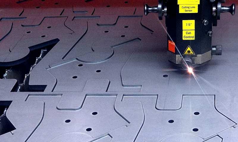 Laserschneiden bei der Firma TEPRO Präzisionstechnik GmbH