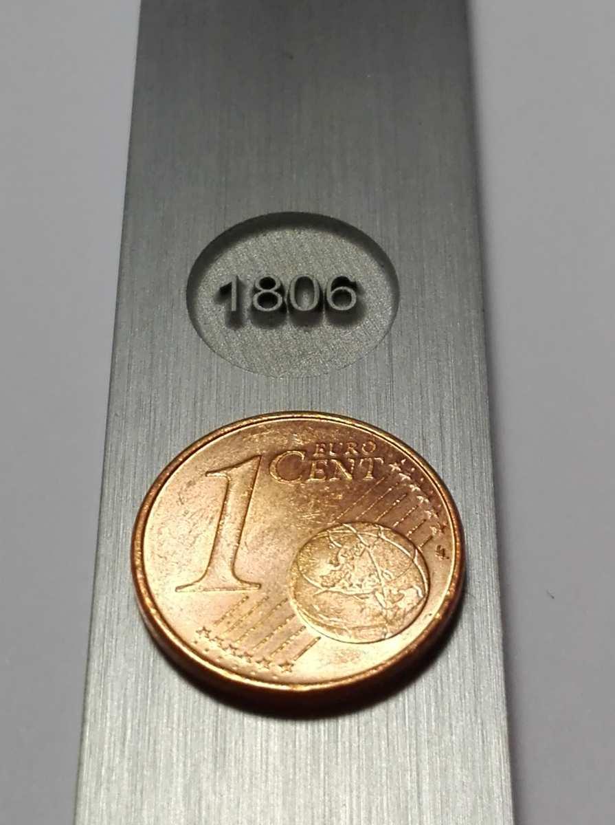 Lasertiefengravur der Firma Laser-Behr