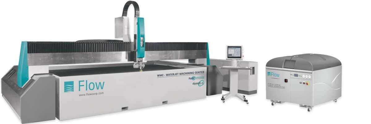 Wasserstrahlschneidmaschine 3D bei der Firma Arcut Wasserstrahlschneiden