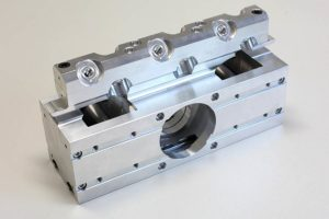 Baugruppe aus Aluminium der Firma Samulski GmbH