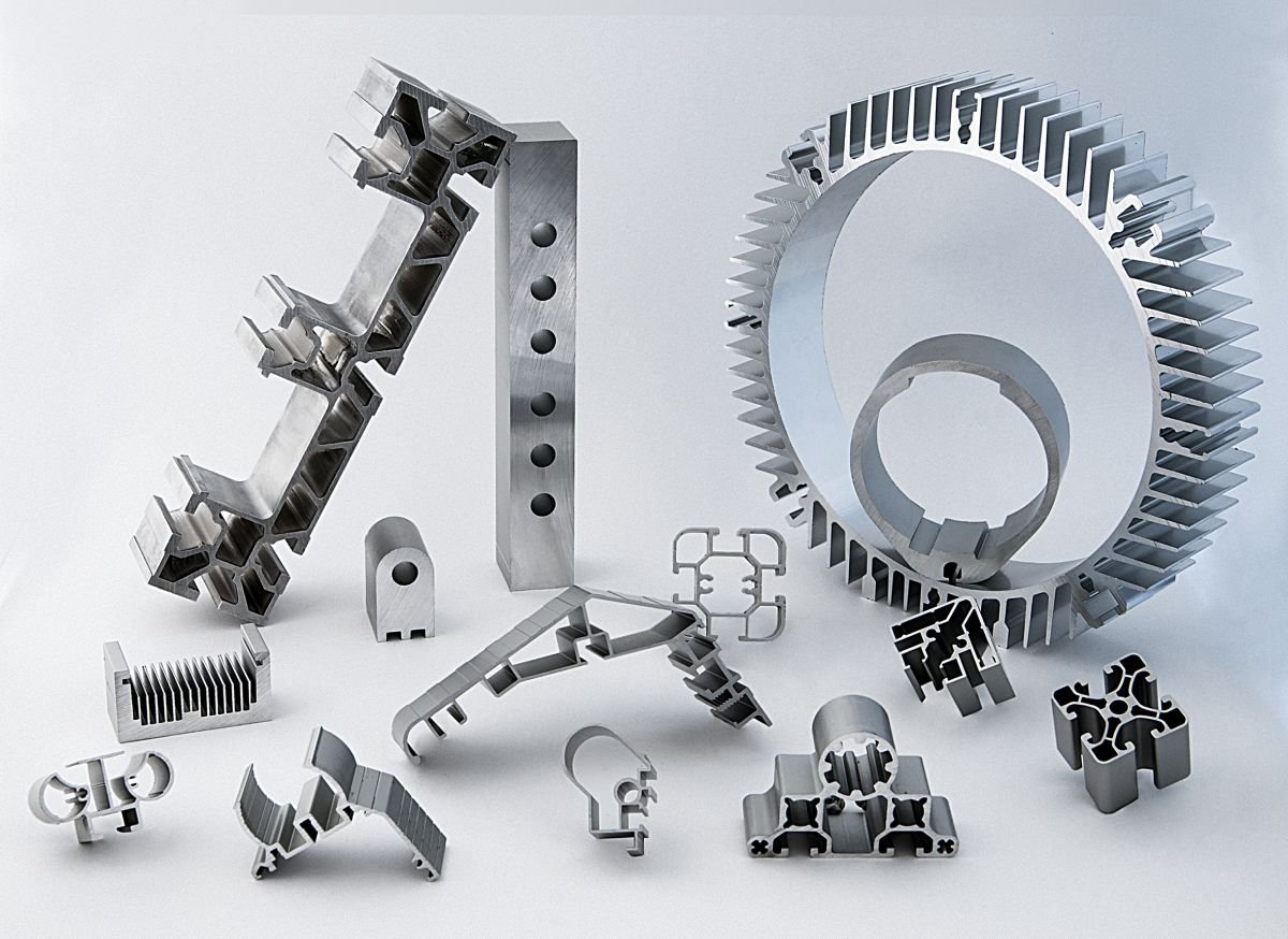 Aluminiumprofile der Firma HUECK Extrusion GmbH & Co. KG